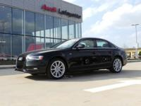 Check out this gently-used 2014 Audi A4 we recently got