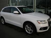 Audi Certified warranty. Special financing options