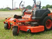 This lawn mower includes greater horse power engine