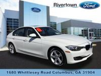 2014 BMW 328I RWD is a 1 Owner with a Clean Car Fax,