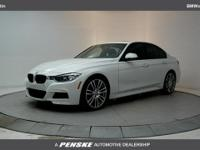 ONE OWNER! 2014 BMW 3 Series 335i Alpine White.