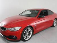 Clean CARFAX. Melbourne Red Metallic 2014 BMW 4 Series