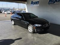 CARFAX One-Owner. Clean CARFAX. Black 2014 BMW 5 Series