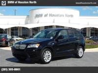 2014 BMW X3 Our Location is: BMW of Houston North -