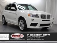 Scores 26 Highway MPG and 19 City MPG! This BMW X3
