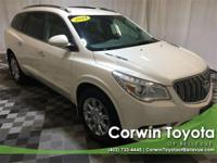 Clean CARFAX. This Buick Enclave has great equipment