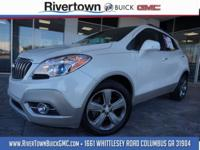 GMC CERTIFIED 2014 BUICK ENCORE WITH LOW, LOW MILES.