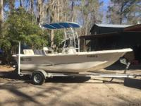 2014 Carolina Skiff Sea Chaser 190 Bay Runner. 2014