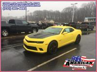 This outstanding example of a 2014 Chevrolet Camaro SS