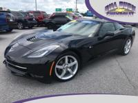 One owner, new Corvette trade-in! This 2014 Stingray is