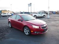 2014 Chevrolet Cruze 2LT Red GM Certified, 3-DAY MONEY