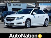 This 2014 Chevrolet Cruze LTZ is offered to you for