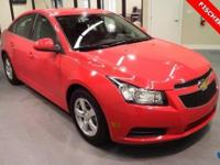 2014 Chevrolet Cruze LT ** Turbo ** 4D Sedan ** 38MPG!!
