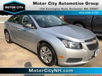 This is one great Chevrolet Cruze.  All Around hero!