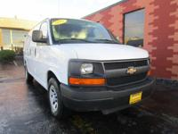 This Chevrolet Express Cargo Van has a strong Gas V6