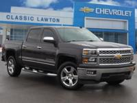 CARFAX One-Owner. Clean CARFAX. Gray 2014 Chevrolet
