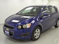 2014 CHEVROLET SONIC. LS PACKAGE. HATCHBACK. LOW MILES.