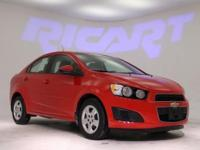 2014 Chevrolet Sonic LS and Motor Trend Certified.