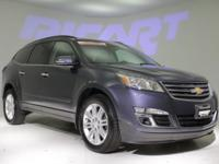 2014 Chevrolet Traverse LT. Consider the cockpit a