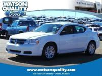 Our agile 1-Owner 2014 Dodge Avenger SE shown in Bright