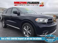 This 2014 Dodge Durango 4dr 2WD 4dr Limited features a