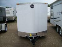 NEW 2014 6X10 ENCLOSED CARGO TRAILER FASTRAC BY WELLS