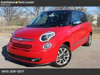 This CLEAN CARFAX, ONE OWNER Fiat 500L has ONLY 5,400