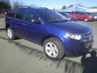 Checkout this Humes Ford of Corry 2014 Blue Ford Edge