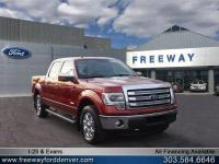 Sunset Metallic 2014 Ford F-150 Lariat 4WD 6-Speed