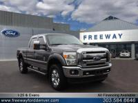 Sterling Gray Metallic 2014 Ford F-350SD Lariat 4WD