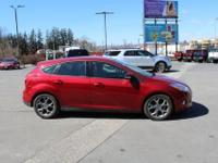 2014 Ford FocusSE Ruby Red Tinted Clearcoat Charcoal