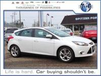Focus Titanium, Ford Certified, and 4D Hatchback. What