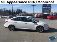 2014 Ford FocusSE Oxford White Charcoal Black, ONE