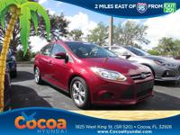 This 2014 Ford Focus SE in Red features: Focus SE, 4D