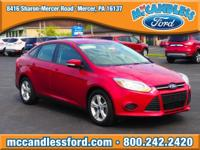 Recent Arrival! This 2014 Ford Focus SE in Ruby Red