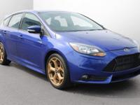 New Price! Focus ST 4D Hatchback, 6-Speed Manual,