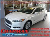 2014 Ford Fusion Energi SE Luxury. Ford Certified and