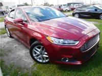 Red 2014 Ford Fusion SE FWD 6-Speed Automatic 2.5L iVCT
