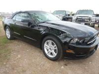 2014 MUSTANG CONVERTIBLE, ONE OWNER, CLEAN CAR FAX,
