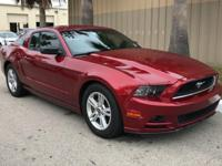 This 2014 Ford Mustang 2dr Cpe V6 Premium is offered to