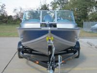 This G3 V172FS Deep V Multispecies/ Family boat is