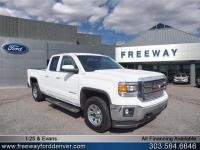 Summit White 2014 GMC Sierra 1500 SLE 4WD 6-Speed