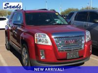 Clean CARFAX. Crystal Red Tint 2014 GMC Terrain SLT-1