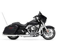 The Harley Street Glide FLHX model has a 2-1-2 exhaust.