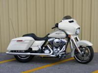 The 2014 H-D Street Glide Special motorbike features
