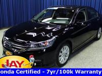 Options:  2014 Honda Accord Ex-L|Black|Smart Buy!
