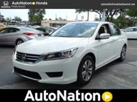 This 2014 Honda Accord Sedan is offered to you for sale