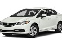 Options:  2014 Honda Civic Ex-L|Miles: 41656Color: