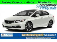Honda Certified! Features: Backup Camera, Smartphone