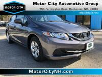 This is one great Honda Civic.  Less than 21k miles!!!